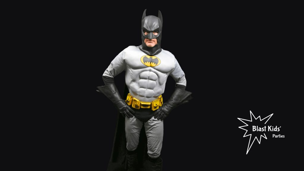 Batman party character from Blast Kids' Parties