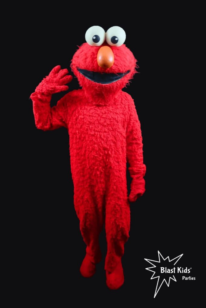 Elmo party character from Blast Kids' Parties